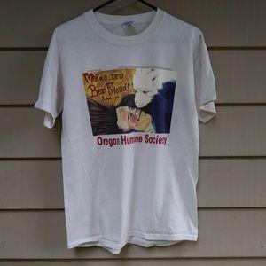 Oregon Human Society T Shirt Medium